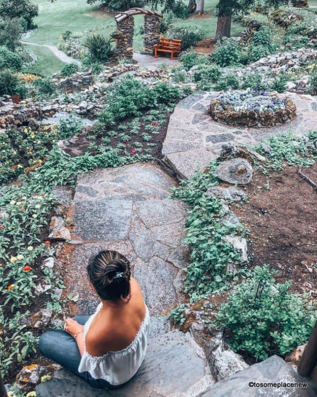 Mayuri at Cascade of Time Gardens