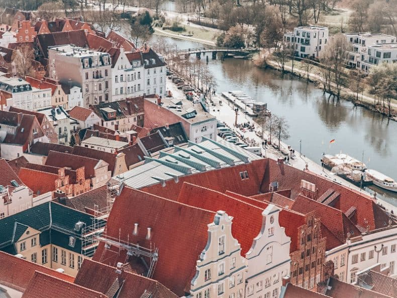 Lubeck Most beautiful cities in Germany