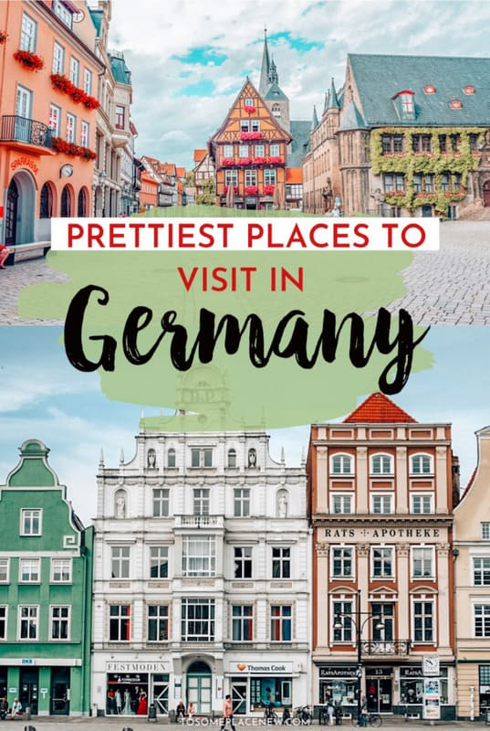 Colorful Houses - Most Beautiful Cities to visit in Germany Europe