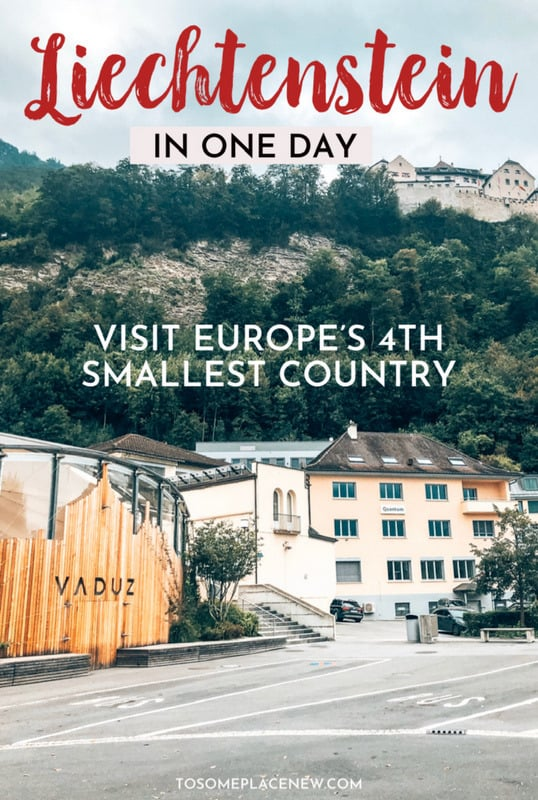 Liechtenstein travel country day itinerary | Visit Liechtenstein castles and countryside | Liechtenstein Vaduz things to do from Zurich