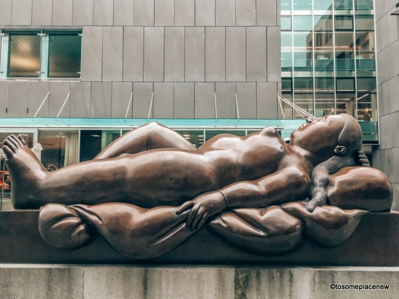 Reclining Woman Sculpture