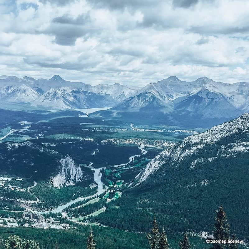 Sulphur mountain views