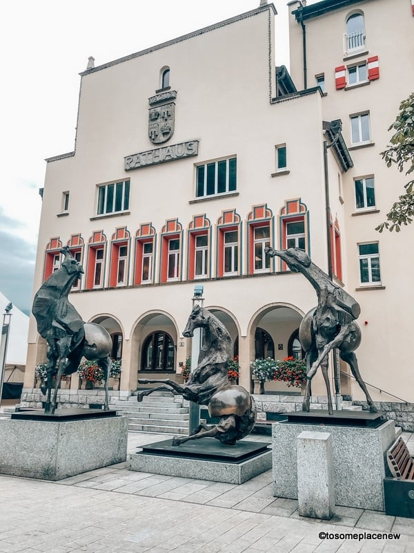 Vaduz City Hall - Liechtenstein fun facts