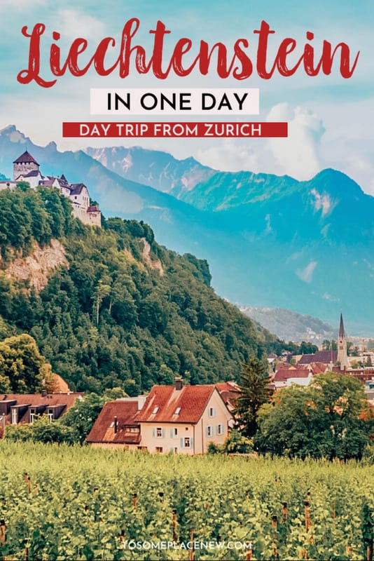Zurich to Liechtenstein day trip Pin