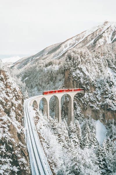 Glacier Express: Most scenic train rides in Switzerland