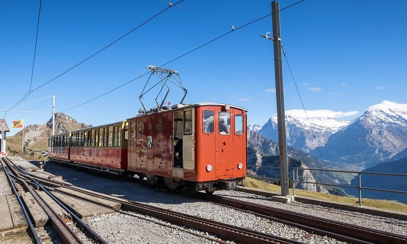 Schynige-Platte - most scenic train rides in Switzerland