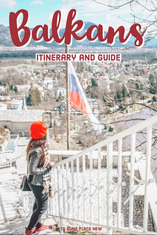 Pin 2 week Balkan itinerary