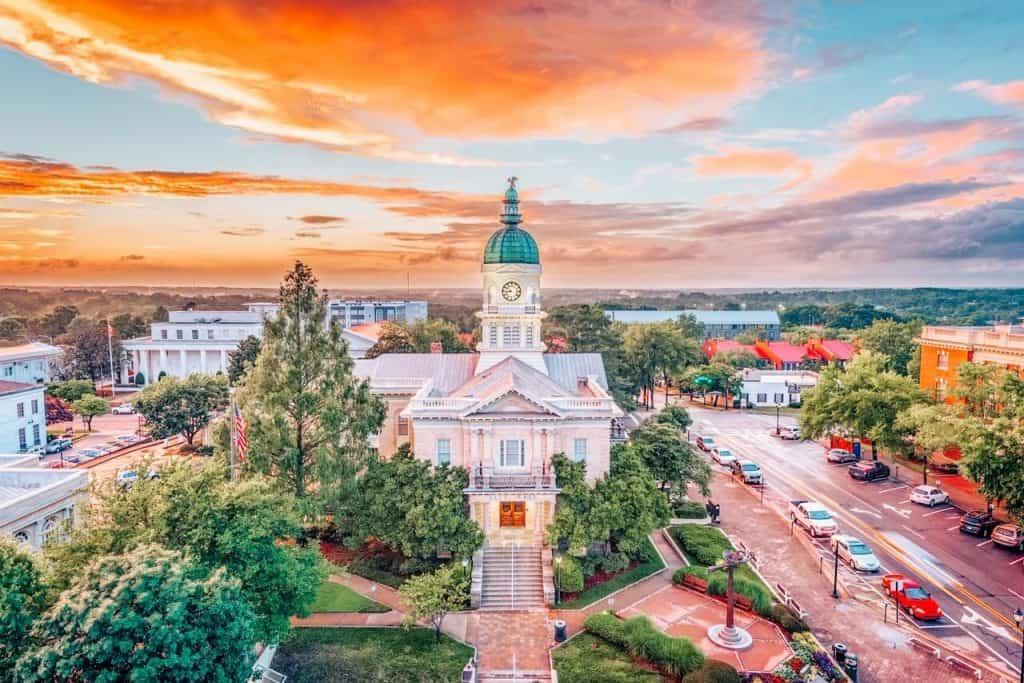 Athens Georgia USA City bucket list