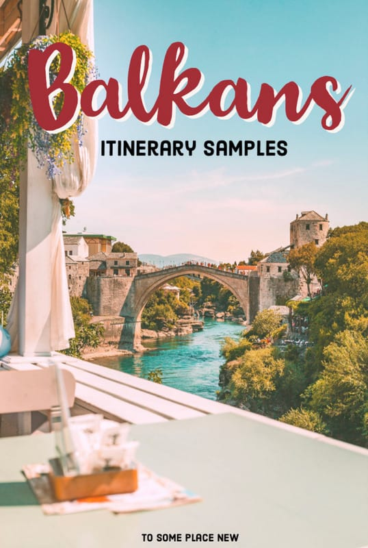 Pin for Balkans itinerary 2 weeks