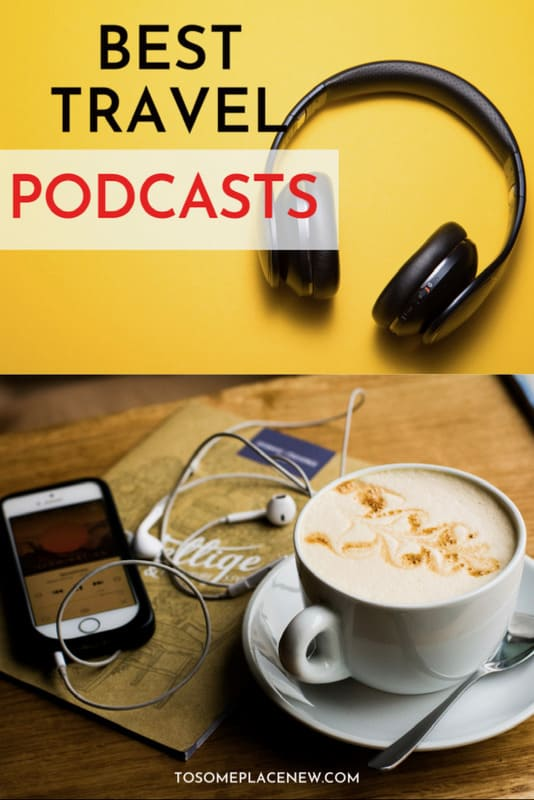 Pin for Best travel podcasts