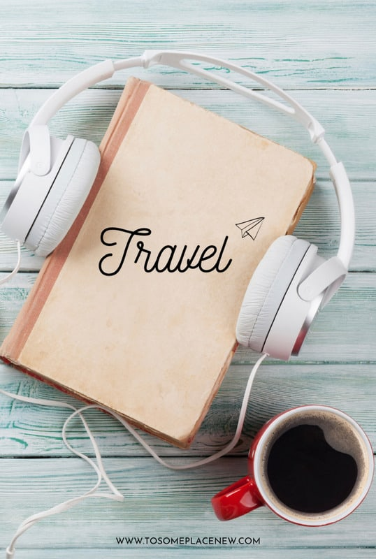 Best podcasts for travel pin