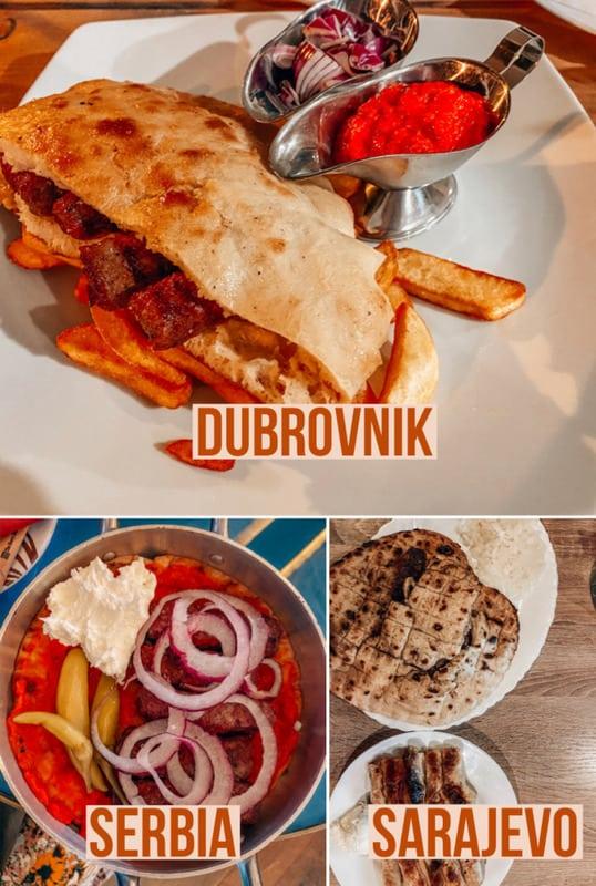 Food in the Balkans
