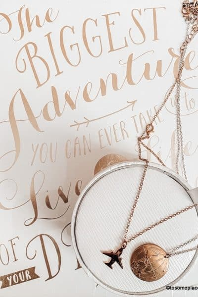 Hand picked Great Wanderlust jewelry for travel lovers