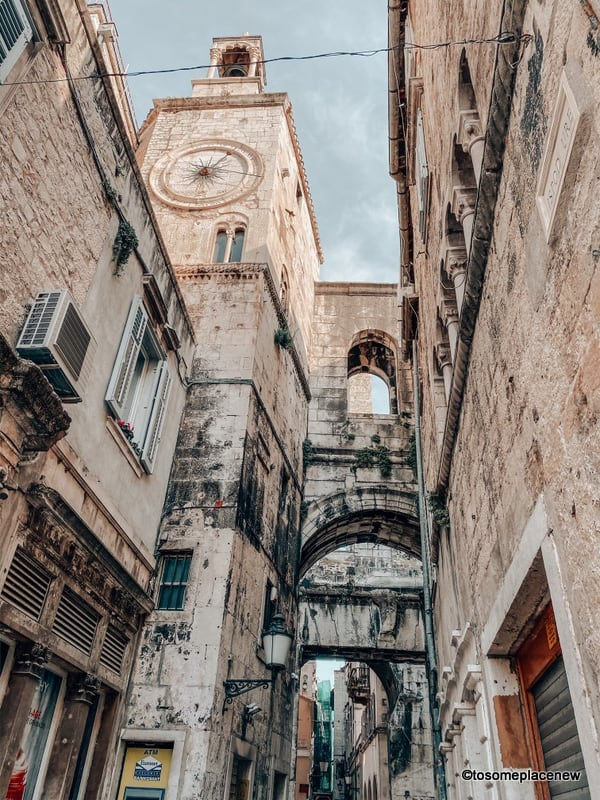 Historic old town Split