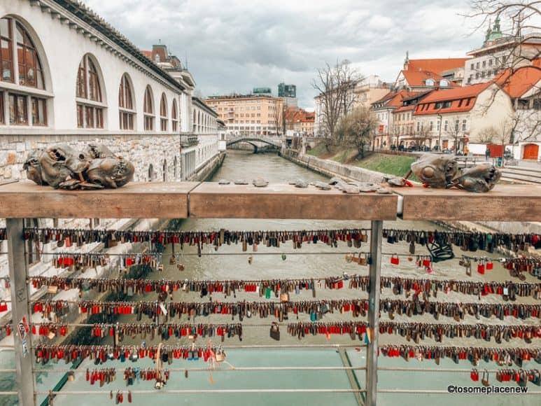 Ljubljana Butcher's Bridge