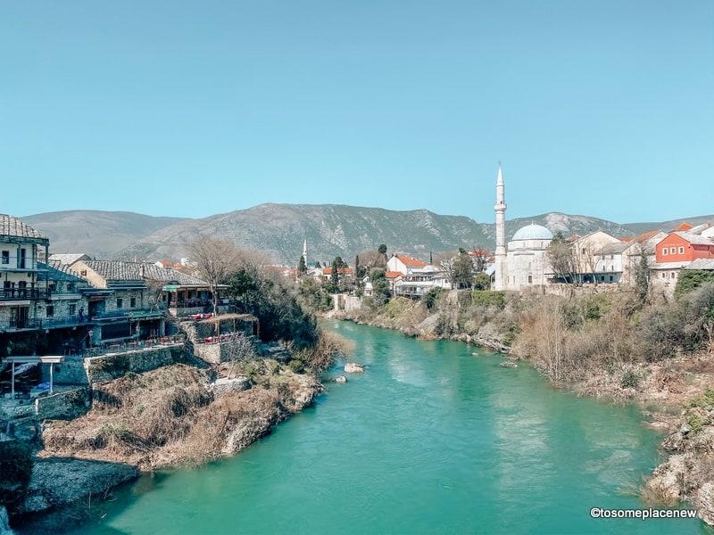 Views of Mostar Bosnia Herzegovina