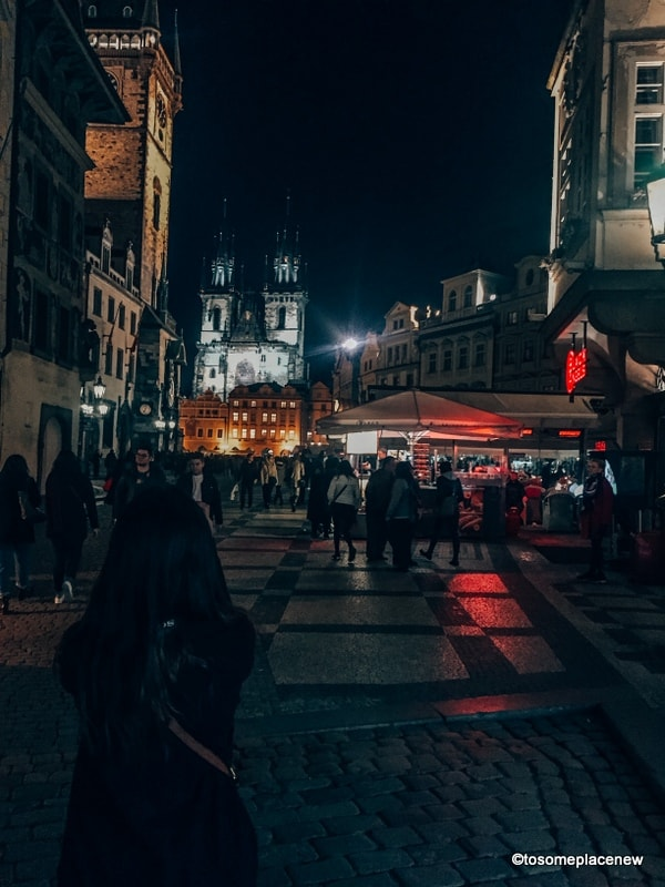 Old Town Prague at Night