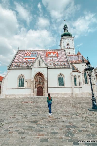 St Mark's in one day in Zagreb itinerary