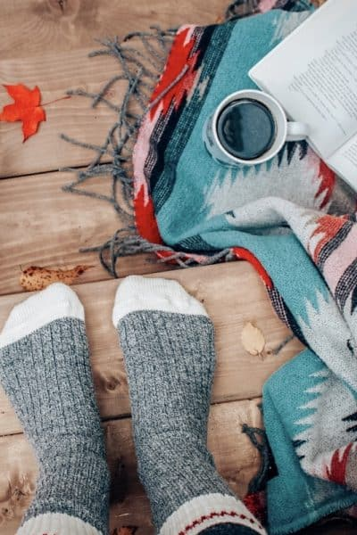 Outdoor gifts for women socks, travel mug, camping blanket and more