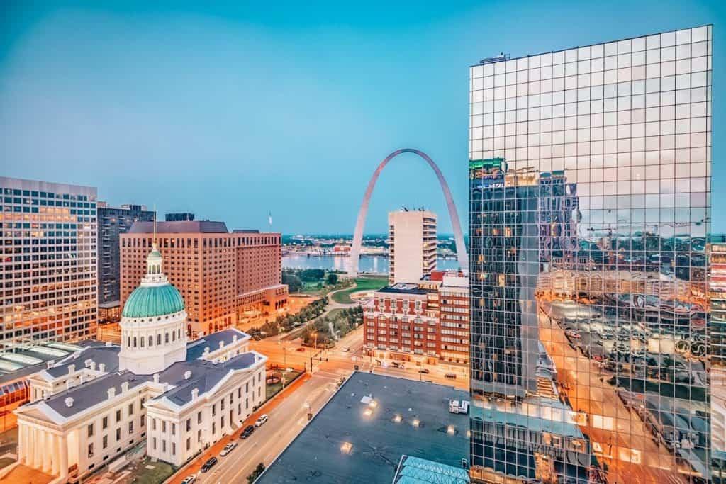 St Louis in USA travel bucket list