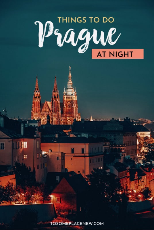 Things to do in Prague at night