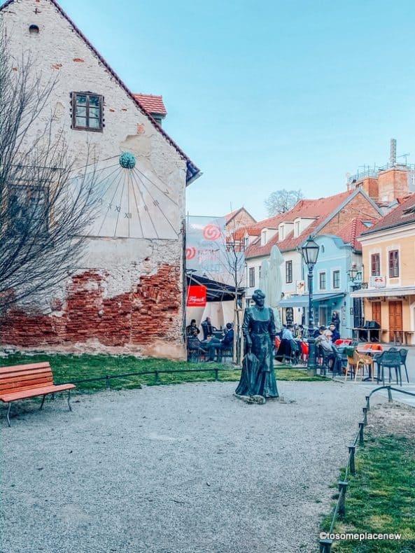 Tkalciceva Street Statue