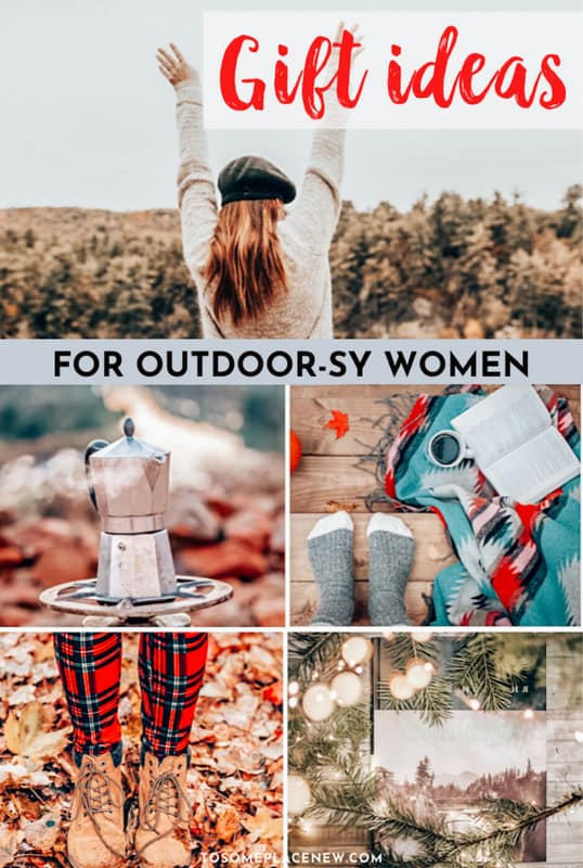 Travel and outdoor gifts for women
