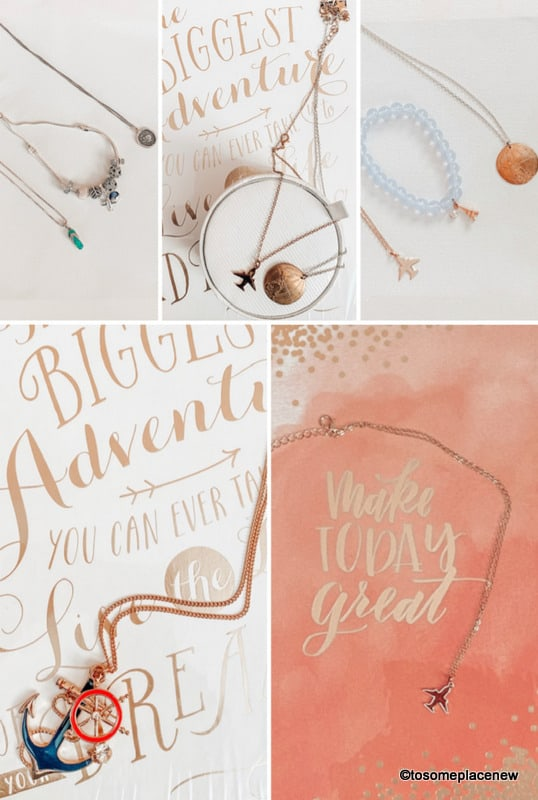 Wanderlust Jewelry for travel lovers gifts