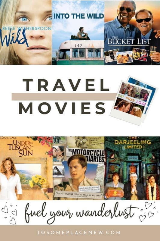 Best wanderlust movies like eat pray love