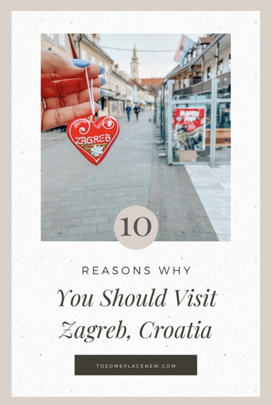 Pin for Zagreb Croatia Guide