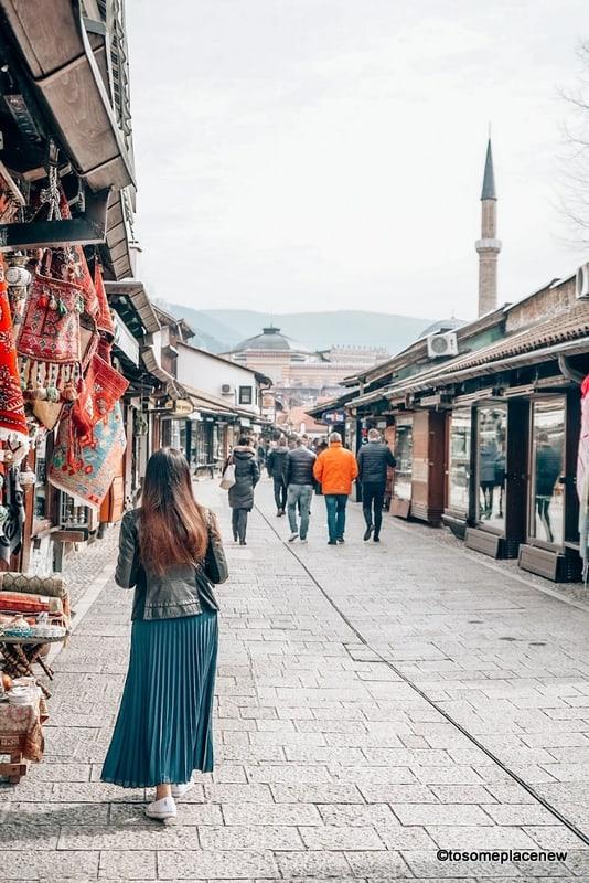 Lanes of Sarajevo