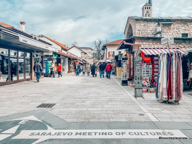 Meeting of Cultures Sarajevo one day itinerary