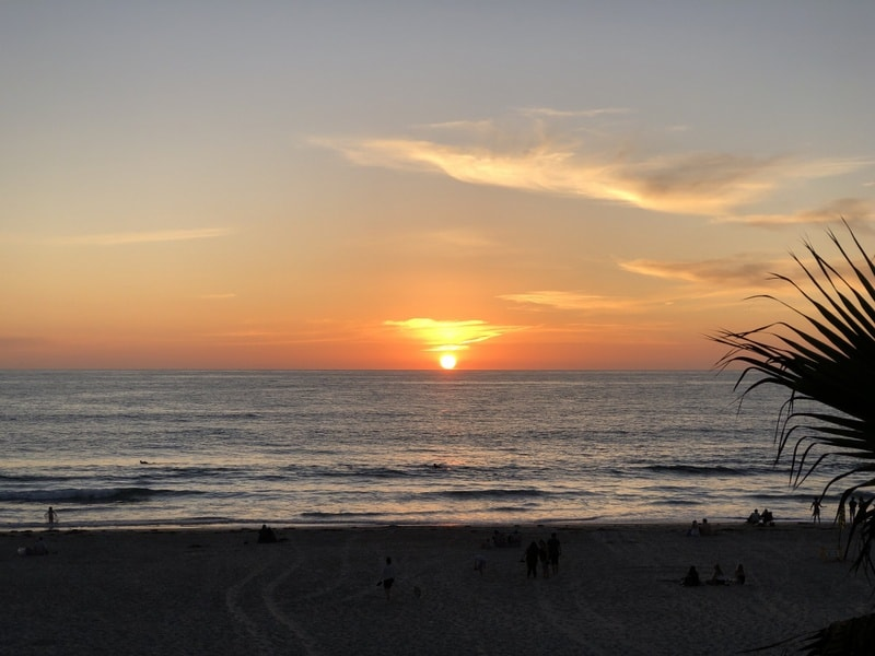 Mission Beach Sunset Romantic getaways in the US