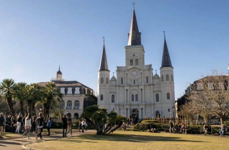 NOLA Most romantic places in USA