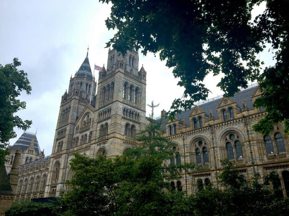 Natural History Museum London Bucketlist