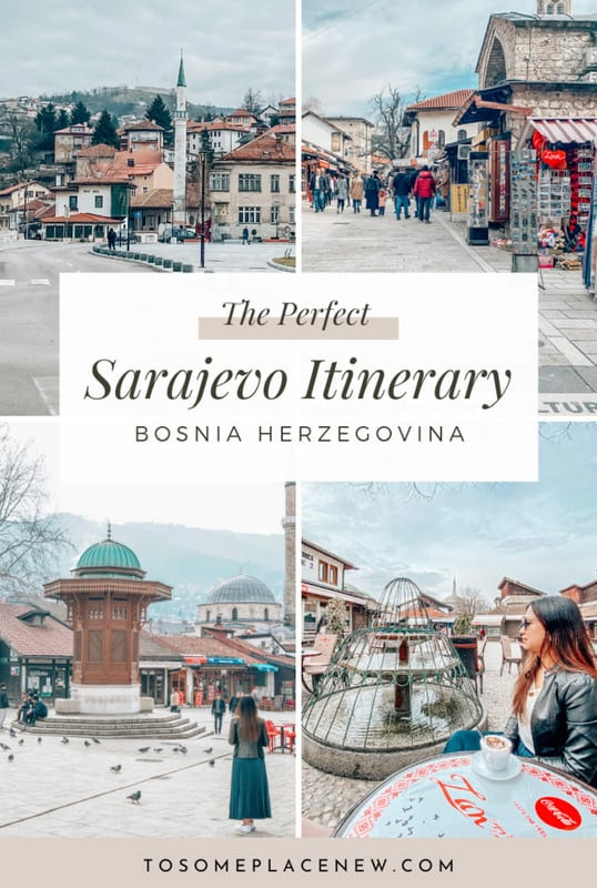 Sarajevo Photography Old town | Sarajevo Bosnia and Herzegovina | Explore Sarajevo old town history, Sarajevo mosques and abandoned Olympics complex | One day in Sarajevo Balkans itinerary #sarajevo #history #beautifuldestinations