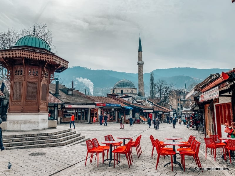 One day in Sarajevo old town
