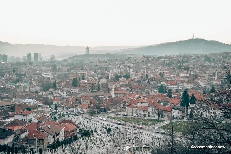 Sunsets in Sarajevo : One day in Sarajevo