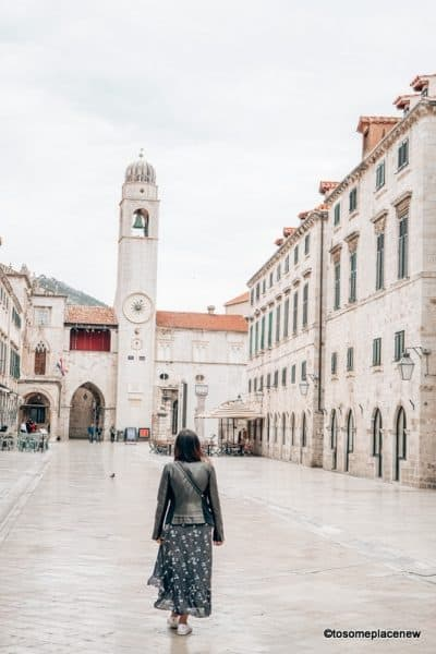 Wandering Old town Dubrovnik itinerary 3 days