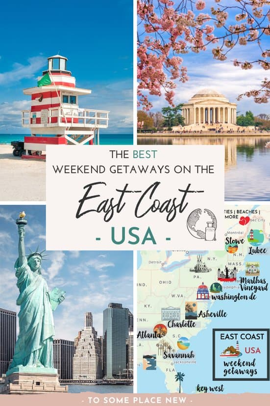Perfect east coast weekend guide