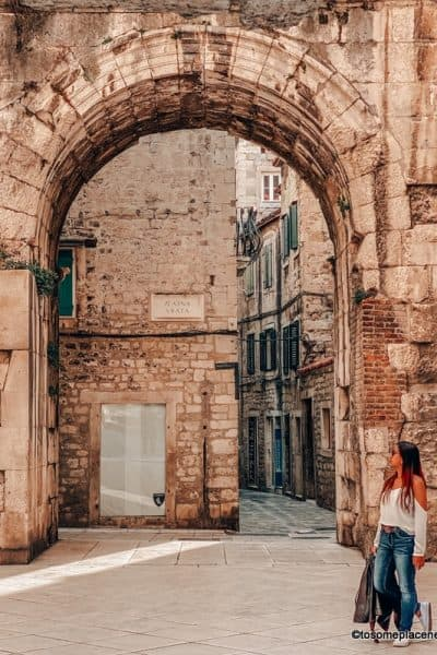 In old town Split - One day in Split itinerary
