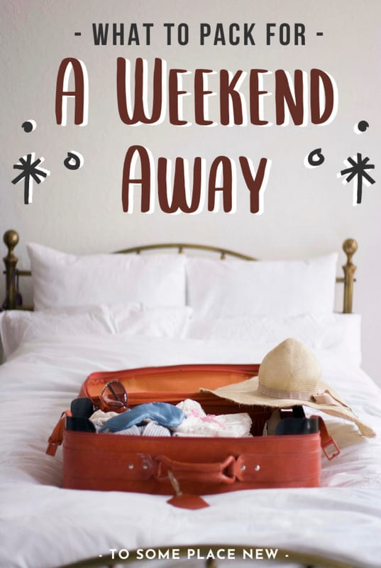 Wondering what to pack for a weekend away? We have a detailed weekend away packing list for you from outfits, cosmetics, electronics & new-normal essentials