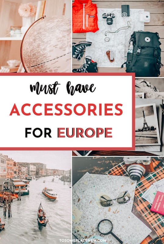 Pin - best travel accessories for Europe