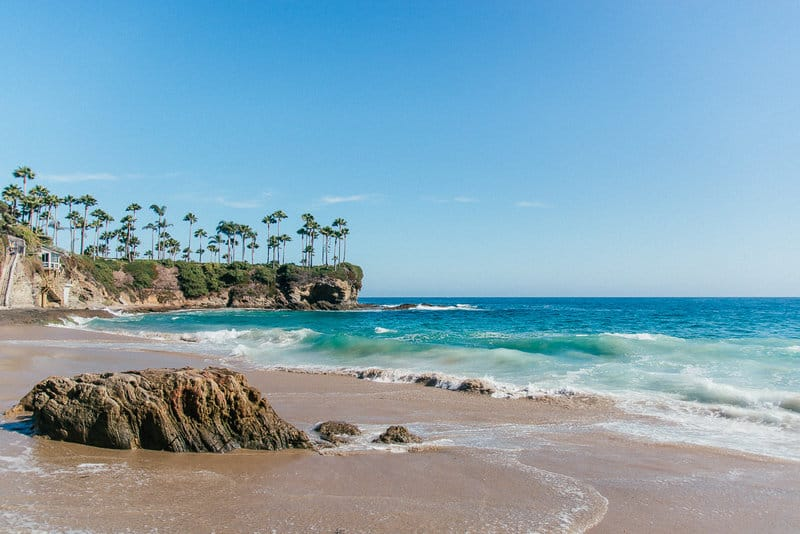 Laguna Beach coastal towns in Cali