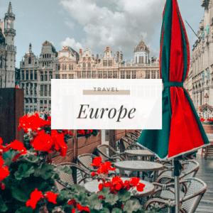 Travel Europe - ToSomePlaceNew