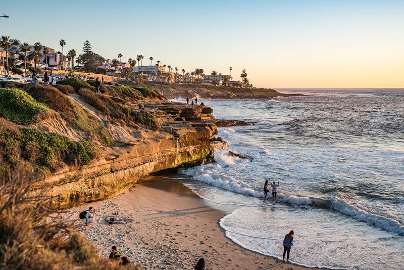 La Jolla stunning coastal towns in California