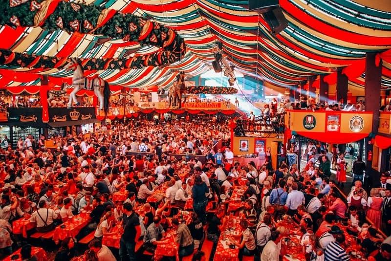 MUNICH - OCTOBER 16: Oktoberfest October Europe Autumn destinations