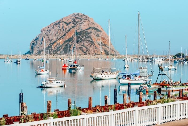 San Luis Obispo Coastal towns in California