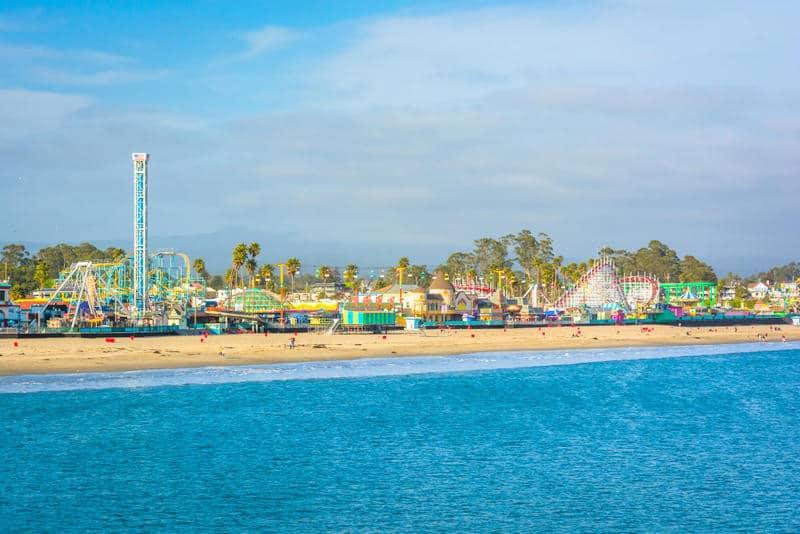 Santa Cruz California Coastal cities