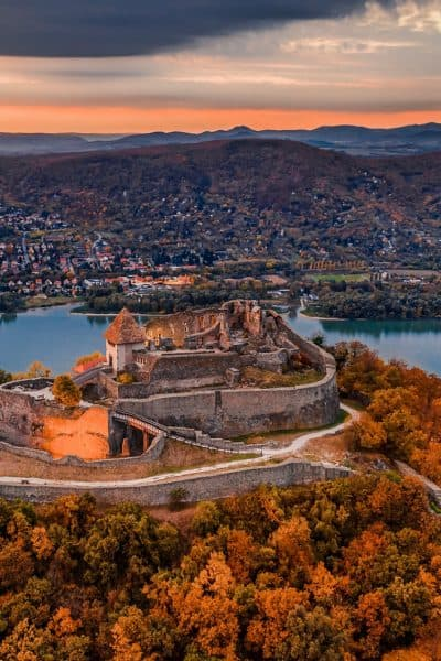Castle Visegrád Most beautiful places in Hungary